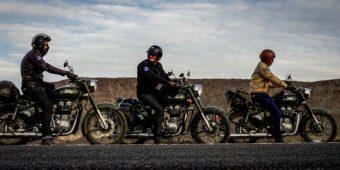 voyage royal enfield moto