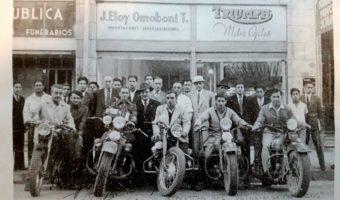 EINE MOTORRADTOUR IN SÜDAMERIKA IM JAHR 1946