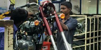 réparation moto inde du sud