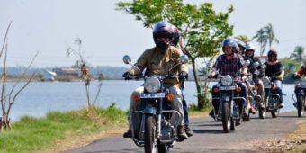itinéraire inde du sud en moto
