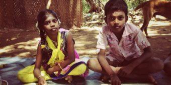 enfants inde du sud