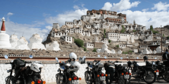 vue inde himalaya en moto