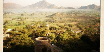 paysage inde rajasthan