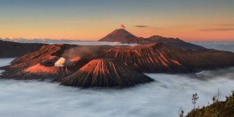 volcan bromo indonesie