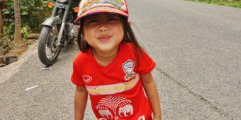 voyage moto laos enfant