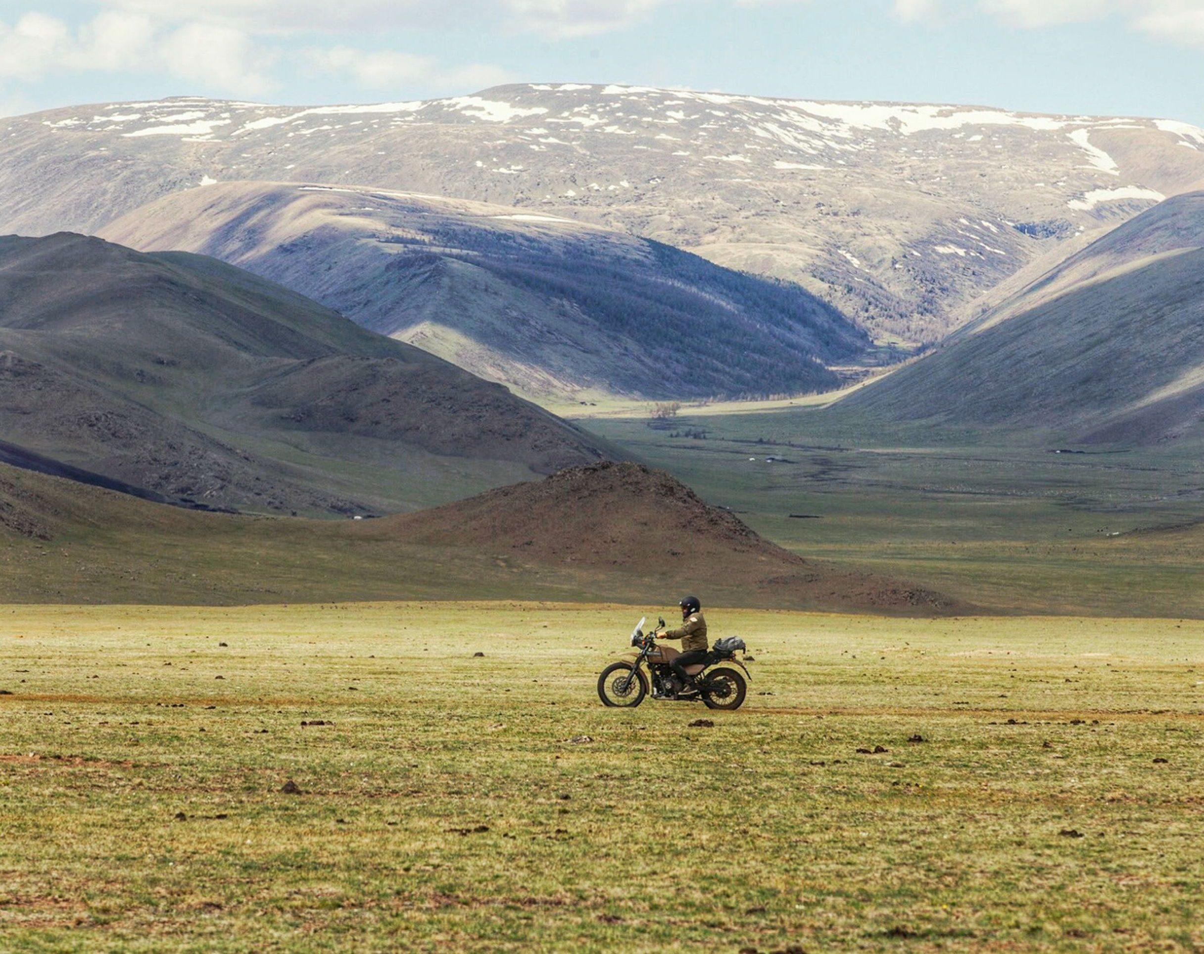 Mit dem Motorrad durch die Mongolei
