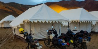 Royal Enfield mongolie