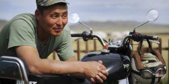 royal enfield en mongolie
