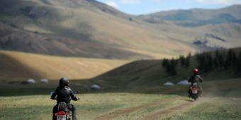moto mongolie
