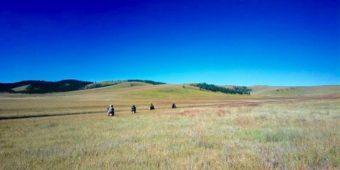moto en mongolie