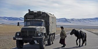 route moto mongolie