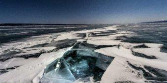 lac gelé mongolie