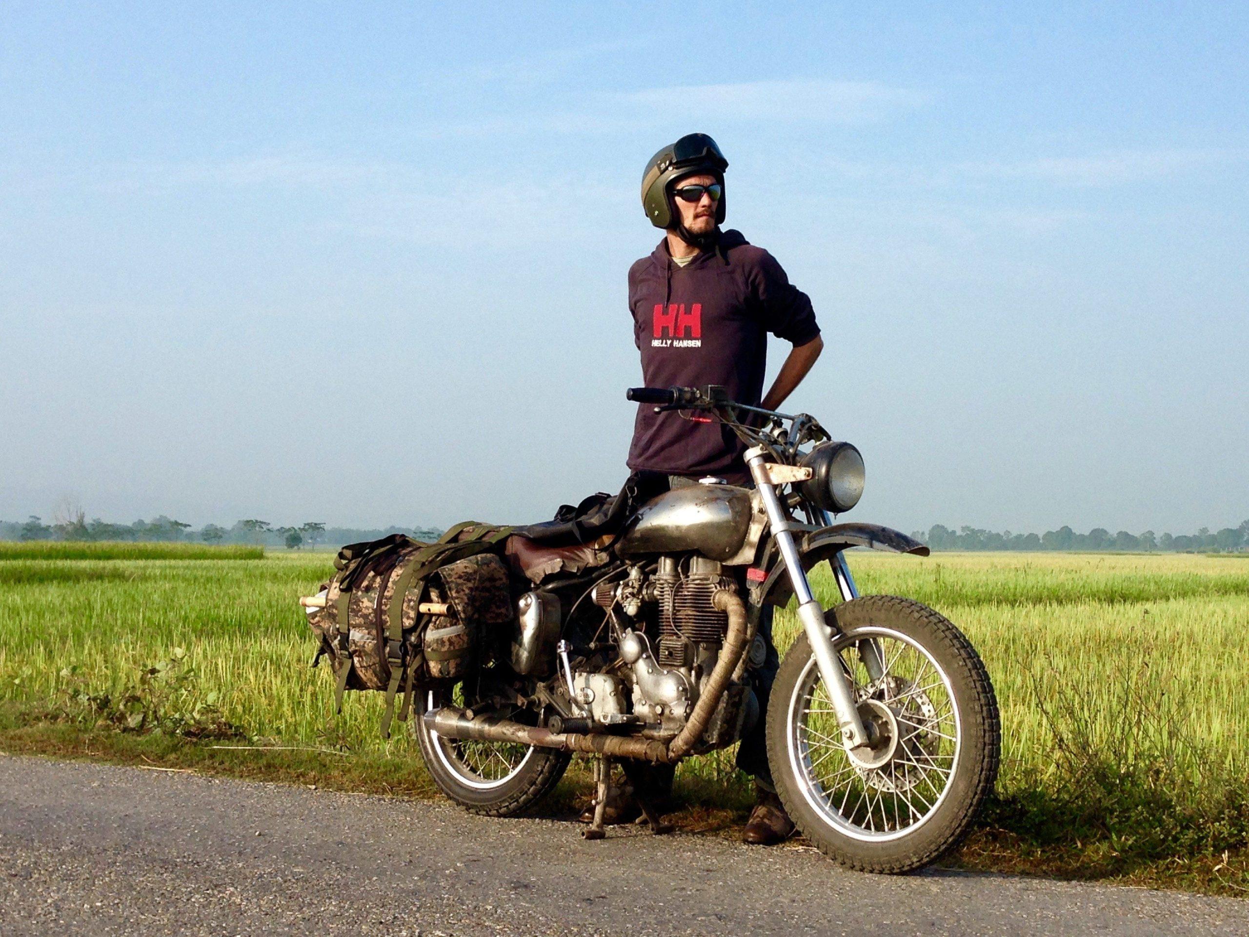 Motorradreise Asien