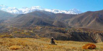 découverte moto nepal