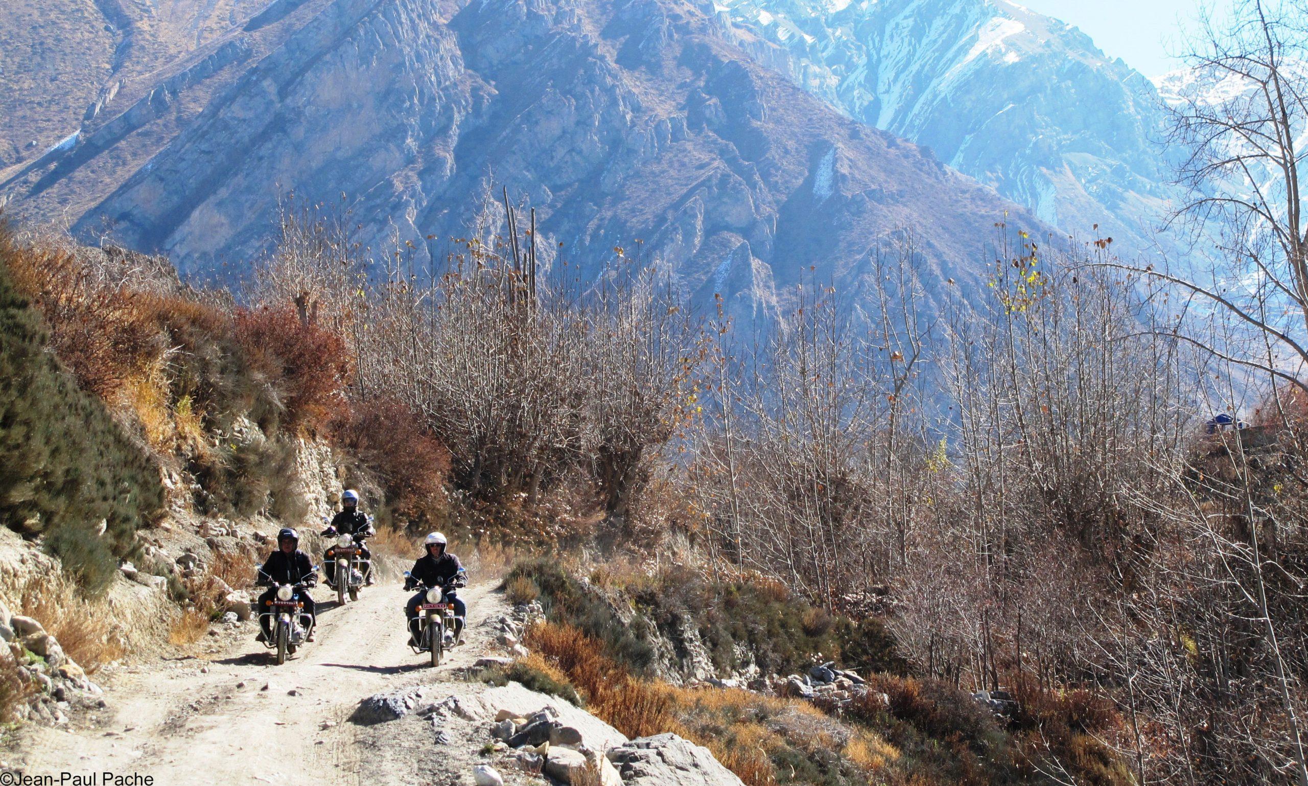 piste moto nepal