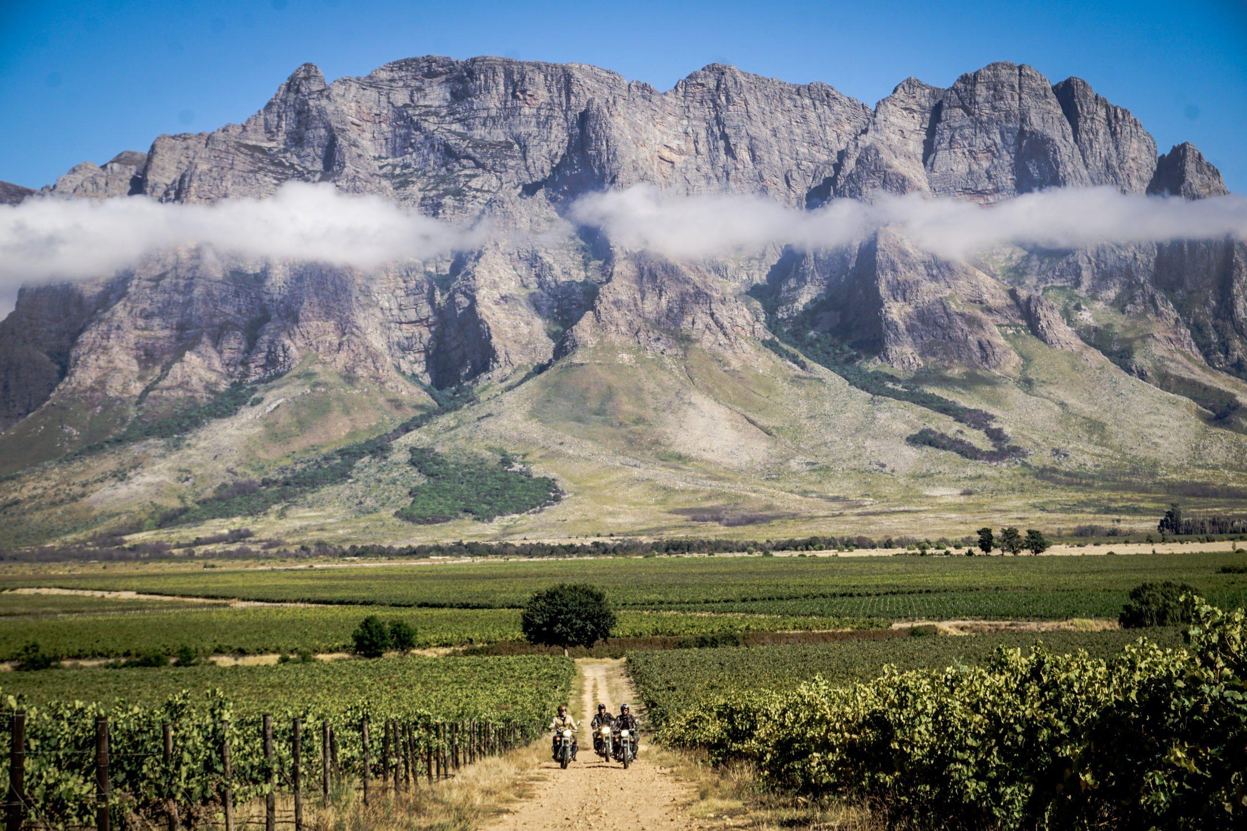 Motorrad-Roadtrip Südafrika - Es geht nach Südafrika