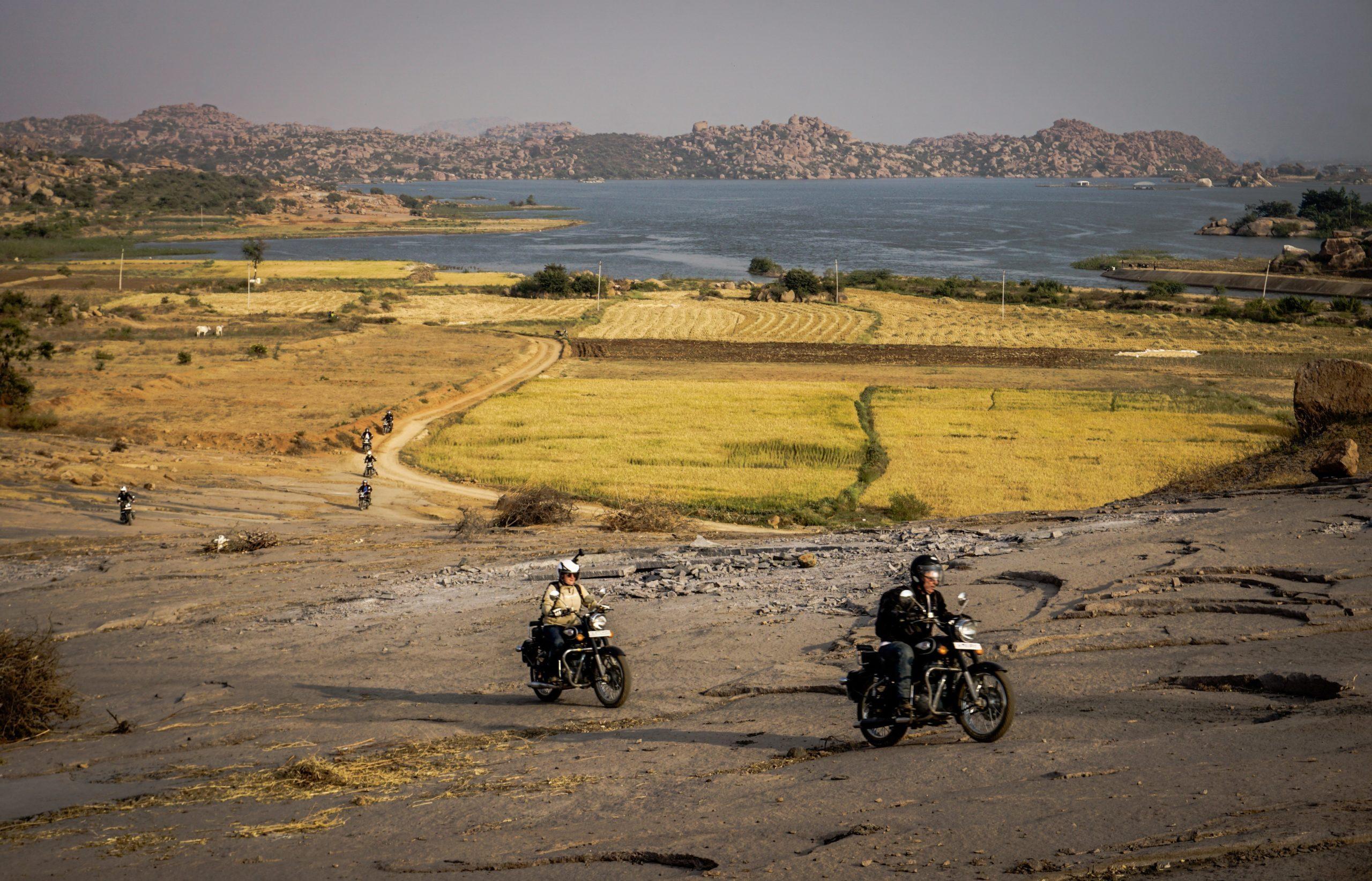 Motorrad-Roadtrip Südindien - Goa Dschungel & Uralte Schätze