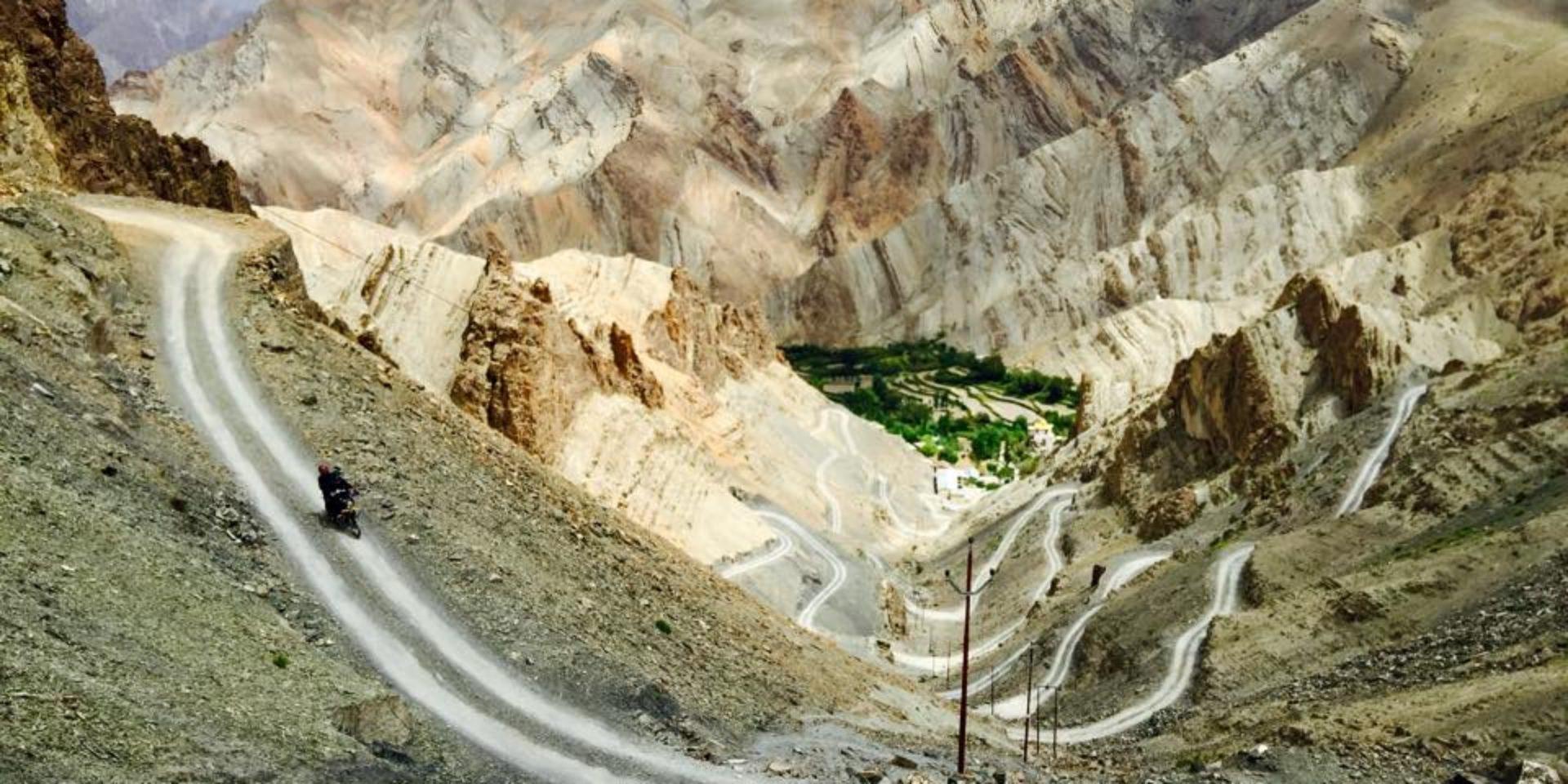 Motorrad-Roadtrip Himalaya - Oasen und Gipfel am Ende der Welt
