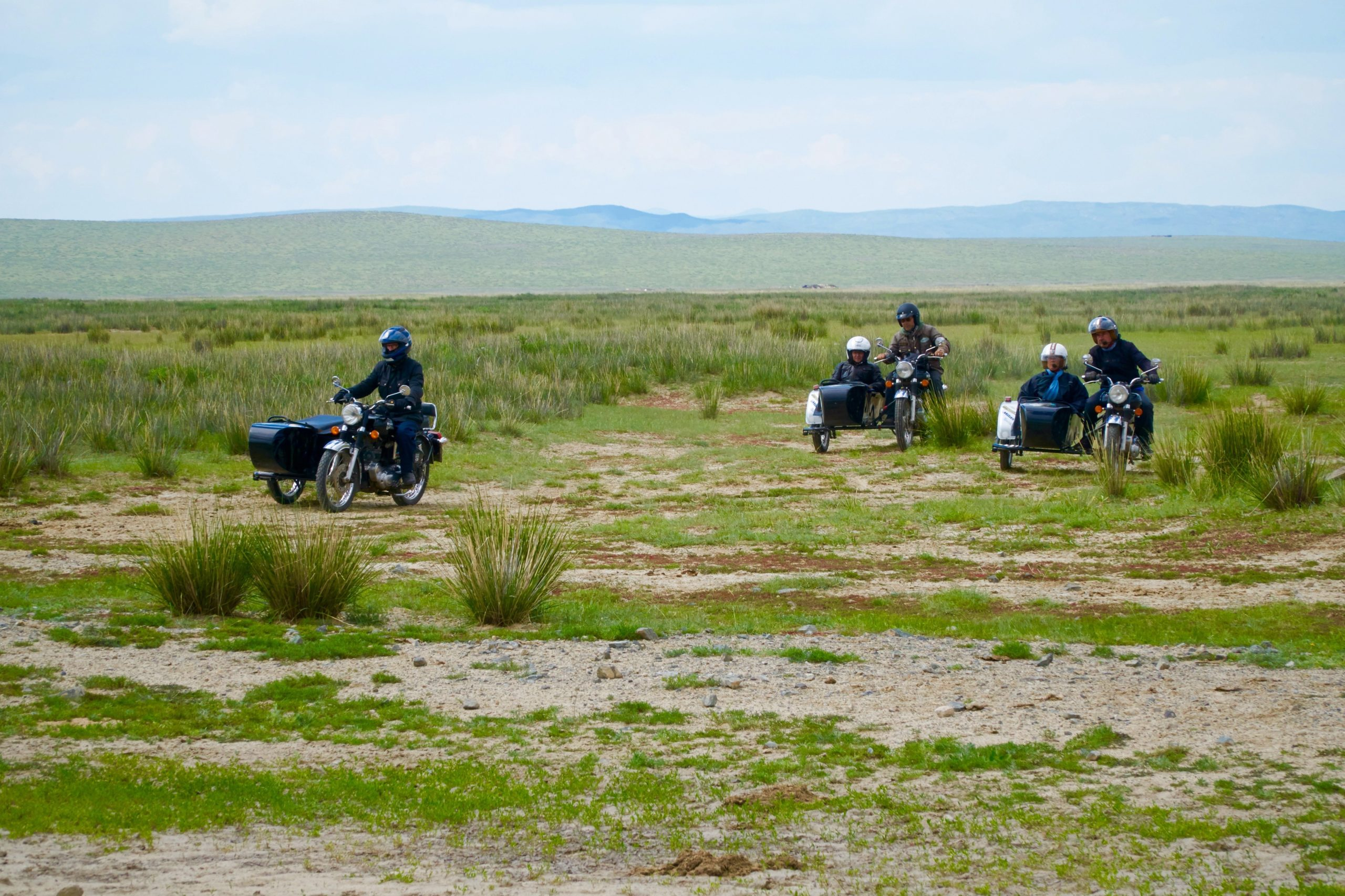 Motorrad-Roadtrip Mongolei - East Side Story