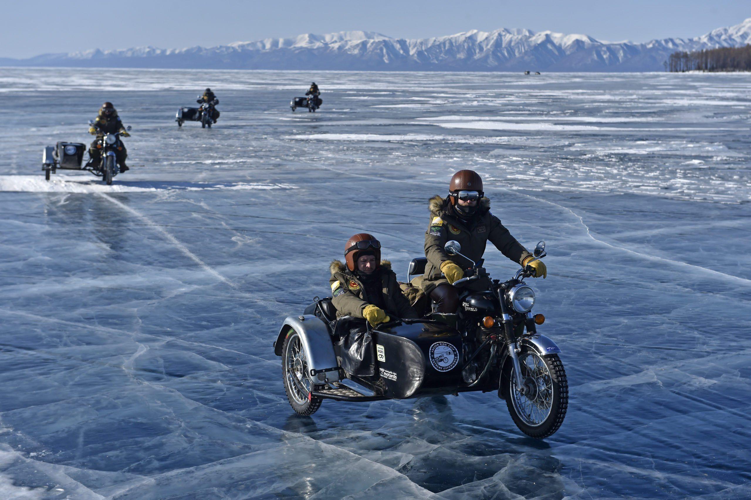 Motorrad-Roadtrip Mongolei - Frozen Ride