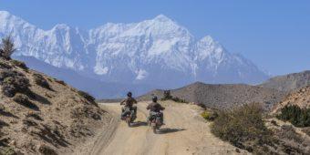 Motorradreise - Oberer Mustang: Tour ins verbotene Königreich