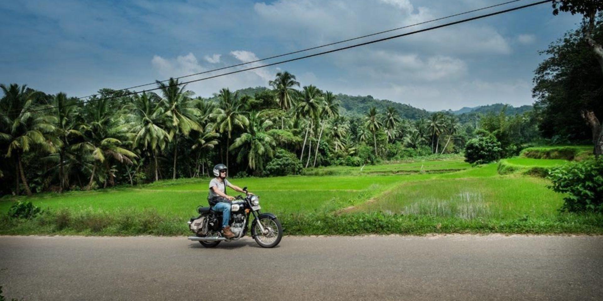 Motorrad-Roadtrip Sri Lanka - Das weiße Gold von Ceylon
