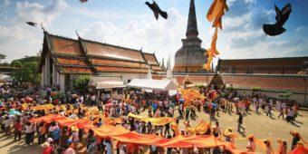 festivités thailande