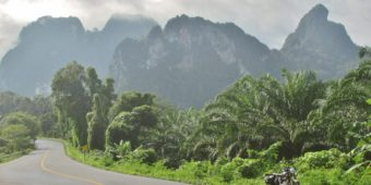 itinéraire moto thailande
