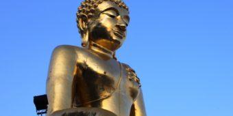 bouddha doré thailande