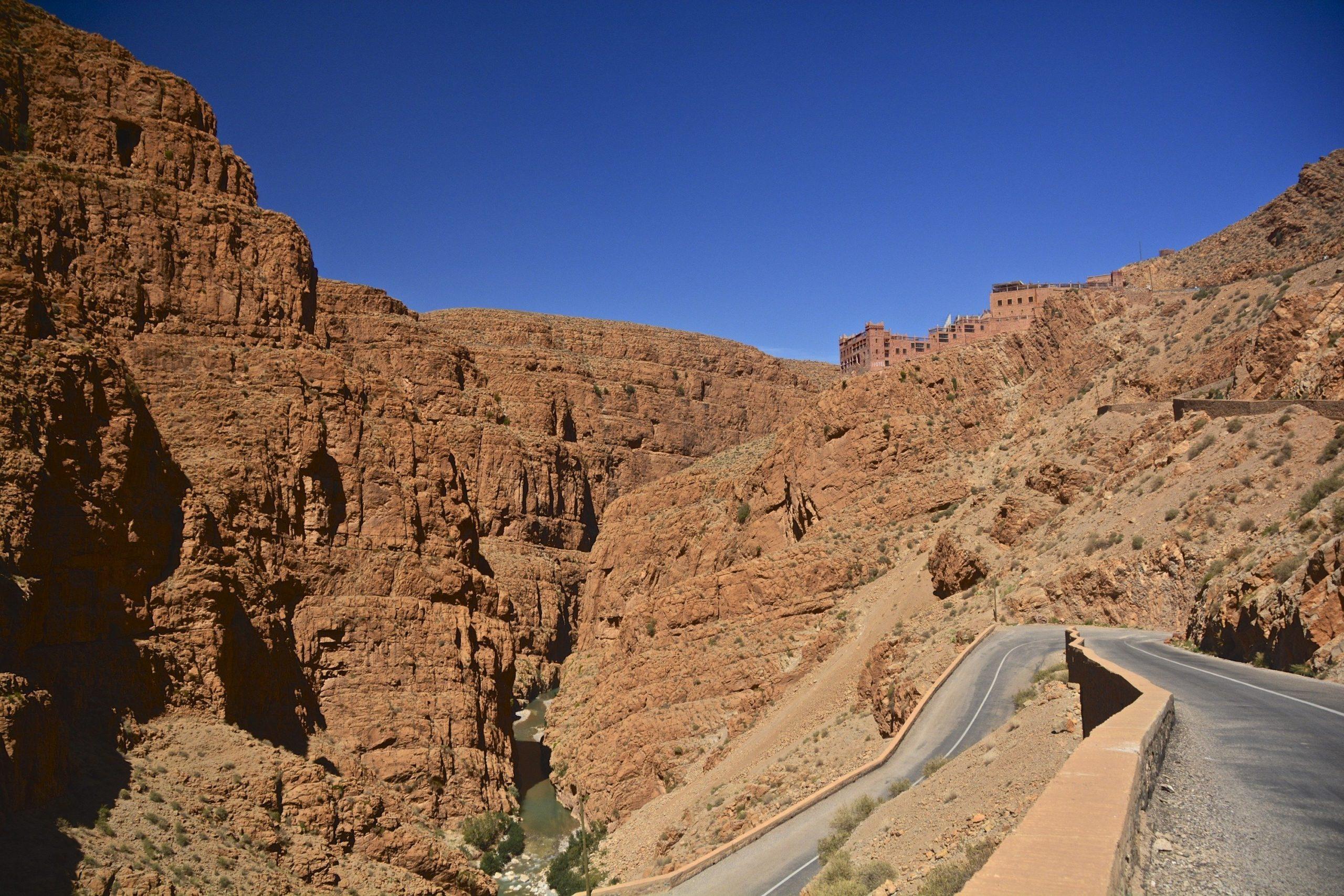 Motorradreise Marokko