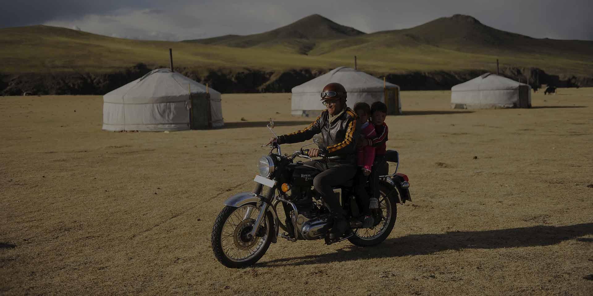 Motorradreise Mongolei